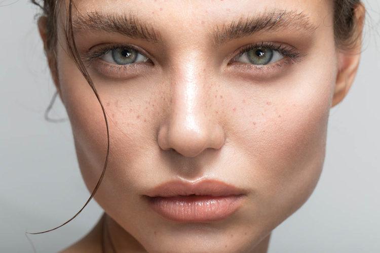 рельеф кожи лица